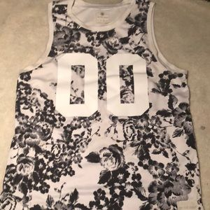 On The Byas Pacsun Floral Basketball Jersey